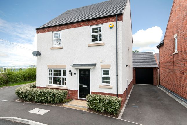 Thumbnail Detached house for sale in Vulcan Way, Castle Donington, Derby