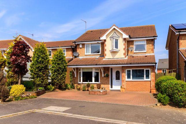 Thumbnail Detached house for sale in Scoular Drive, Ashington