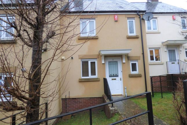 Thumbnail Terraced house to rent in Vanguard Close, Manadon Park, Plymouth