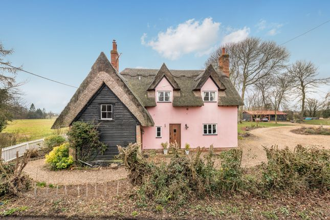 Thumbnail Cottage for sale in Colne Road, Great Tey, Colchester