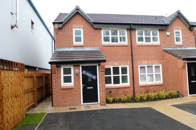 Thumbnail Semi-detached house for sale in Ashton Mews, Hyde