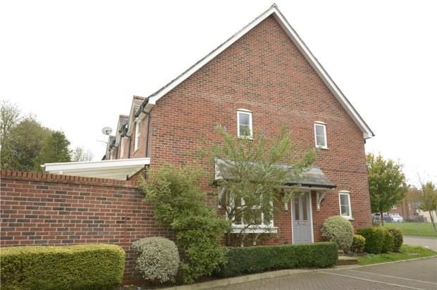 Thumbnail End terrace house for sale in Park View, Whitchurch, Hampshire