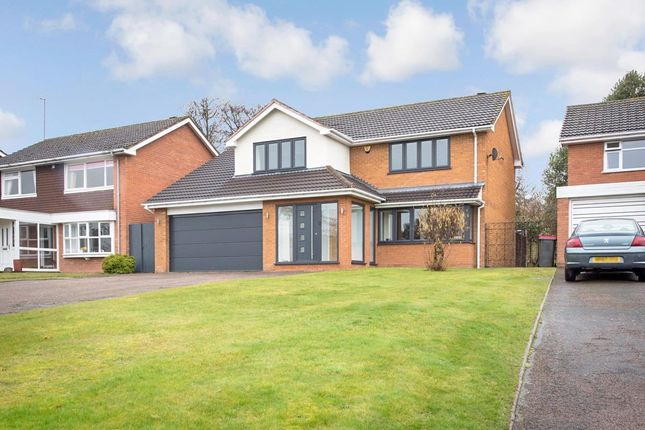 Thumbnail Detached house for sale in The Mount, Curdworth, Sutton Coldfield
