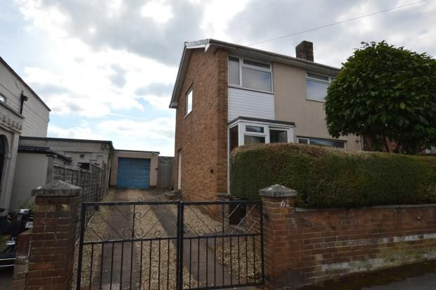 Thumbnail Semi-detached house for sale in Galmington Road, Taunton, Somerset