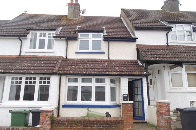 Thumbnail Terraced house to rent in Silvester Road, Bexhill On Sea