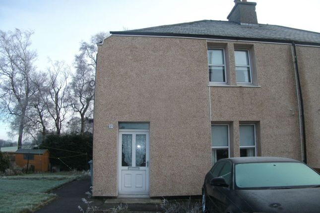Thumbnail Semi-detached house to rent in Milne Street, Carstairs, Lanark