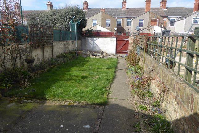 Gardens of Daubney Street, Cleethorpes DN35