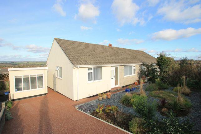 Thumbnail Semi-detached bungalow for sale in Hillside Road, Saltash