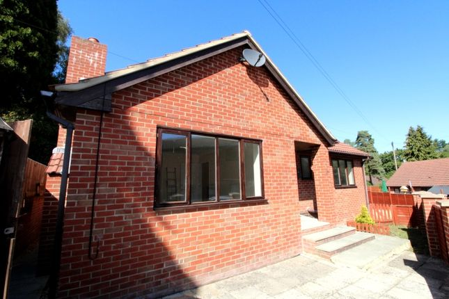 Thumbnail Detached bungalow to rent in Hurn Road, Ringwood