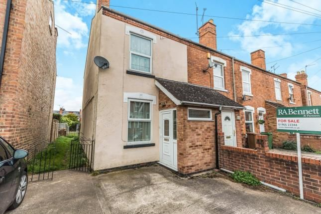Thumbnail End terrace house for sale in Mcintyre Road, St. Johns, Worcester, Worcestershire