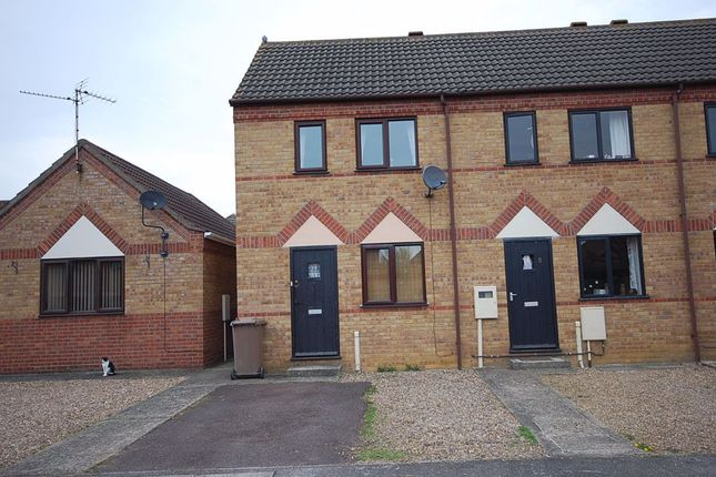Thumbnail Terraced house to rent in Smeeton Court, Sleaford