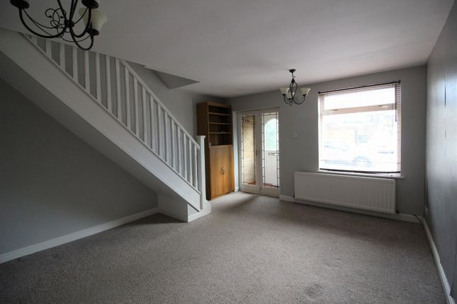 Thumbnail Terraced house to rent in Brosscroft Village, Hadfield, Glossop