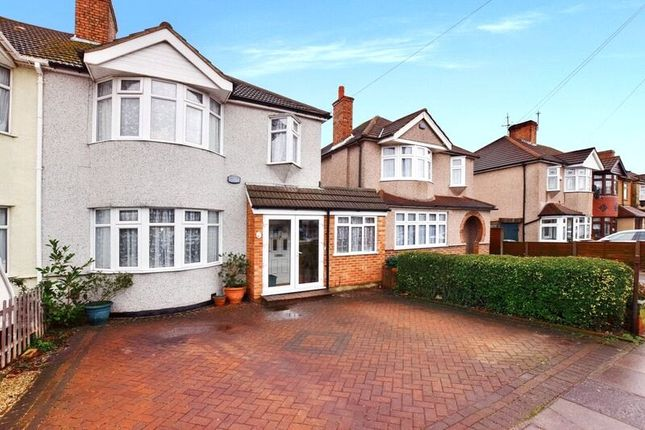 Thumbnail Semi-detached house for sale in Normanhurst, Bexleyheath, Kent