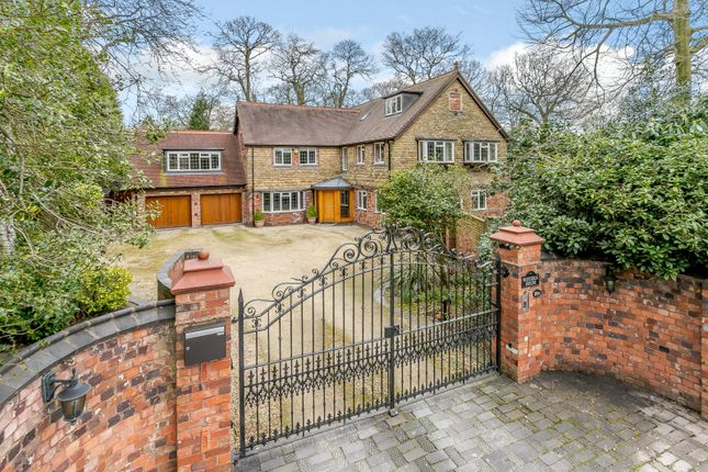 Thumbnail Detached house for sale in Hartopp Road, Four Oaks, Sutton Coldfield, West Midlands