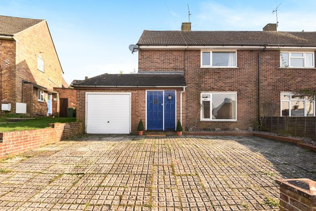 Thumbnail Semi-detached house to rent in Warren Road, Winchester