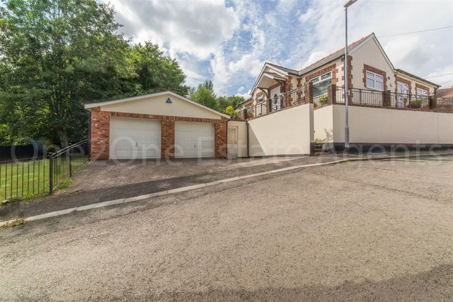 Thumbnail Detached bungalow for sale in Greenhill Road, Cwmbran