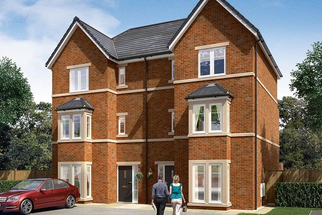 "Thumbnail Semi-detached house for sale in ""The Thirston"" at Bar Lane, Wakefield"