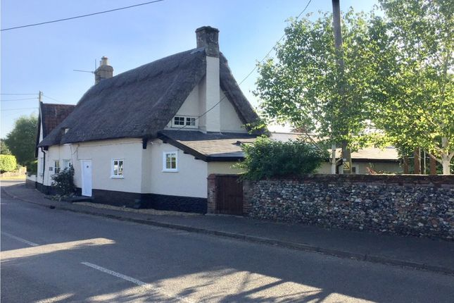 Thumbnail Semi-detached house for sale in The Street, Thetford, Norfolk