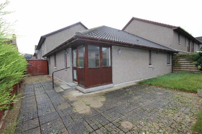 Thumbnail Terraced bungalow for sale in Lesmurdie Court, Elgin