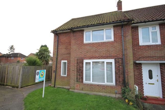 Thumbnail End terrace house to rent in Limerick Close, Bracknell