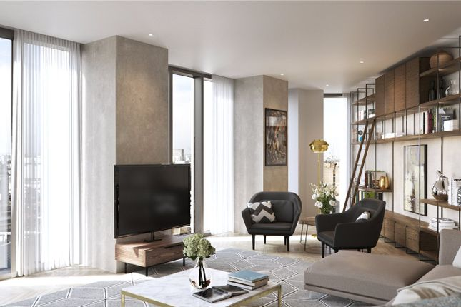 Sitting Room of Hexagon Apartments, Parker Street, Covent Garden, London WC2B