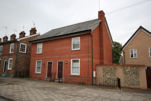 Thumbnail Semi-detached house to rent in Southgate Street, Bury St. Edmunds