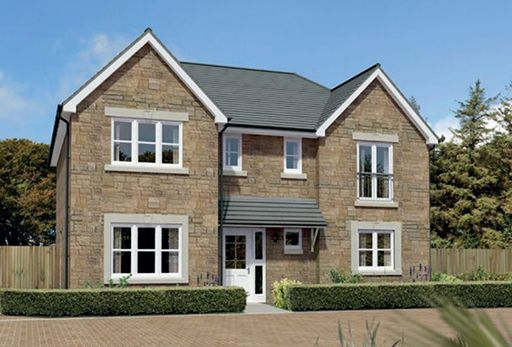 "Thumbnail Detached house for sale in ""Laurieston"" at Meikle Earnock Road, Hamilton"