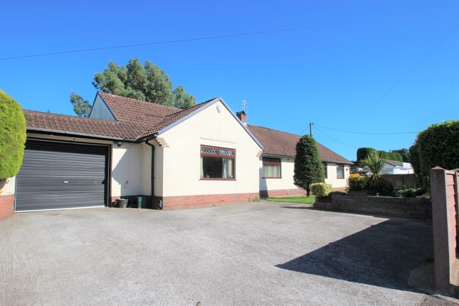 Thumbnail Detached bungalow for sale in Bedwas Road, Caerphilly