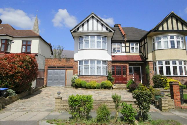 Thumbnail Semi-detached house for sale in Minchenden Crescent, London