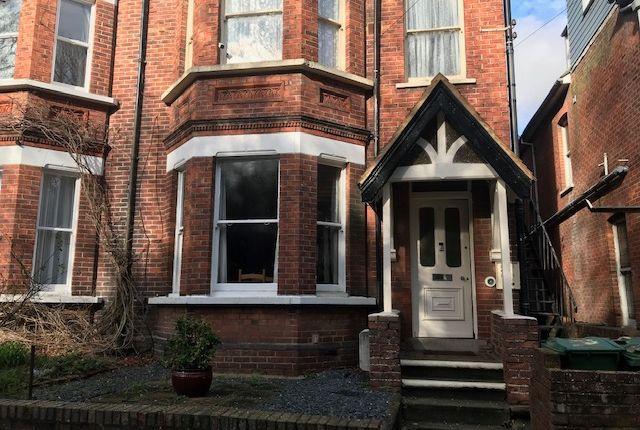 Thumbnail Flat for sale in Broadmead Road, Folkestone