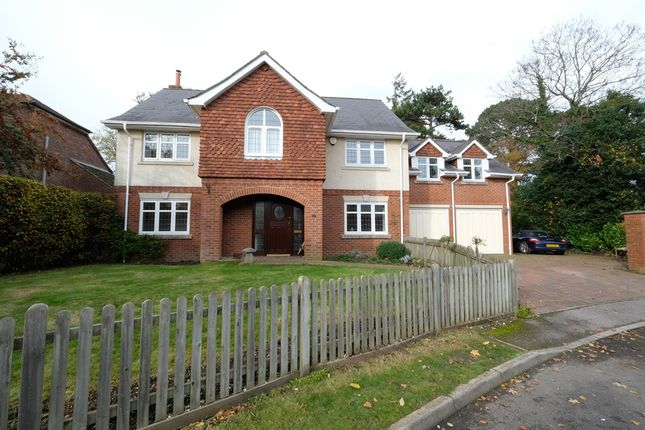 Thumbnail Detached house for sale in The Garth, Dibden Purlieu