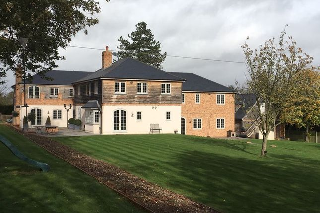 Thumbnail Detached house for sale in School Lane, Headbourne Worthy, Winchester