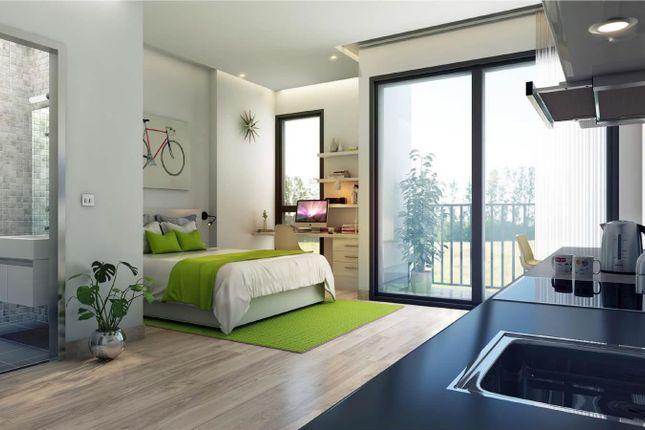 Bedroom CGI of Clarence Street, Leicester LE1