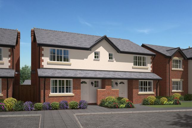 Thumbnail Semi-detached house for sale in Cuddington Grange, Cuddington, Malpas