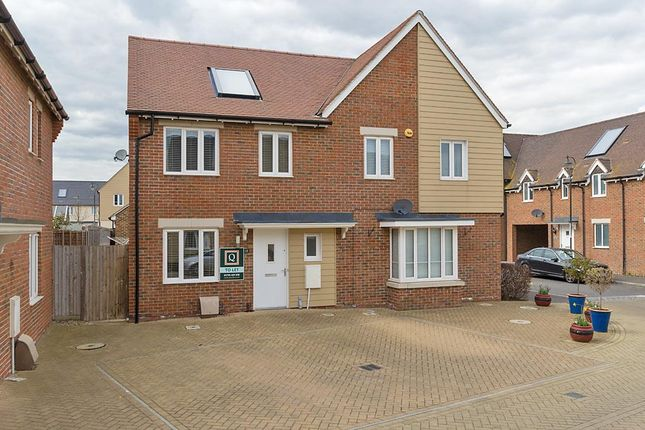 Thumbnail Semi-detached house to rent in Redwing Avenue, Iwade, Sittingbourne