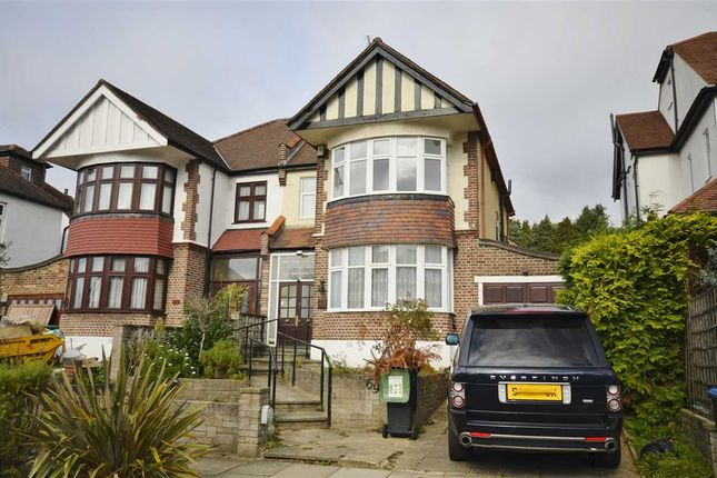 Thumbnail Semi-detached house to rent in Minchenden Crescent, Southgate