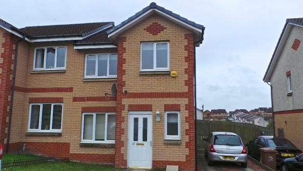Semi-detached house for sale in Talbot Crescent, Coatbridge