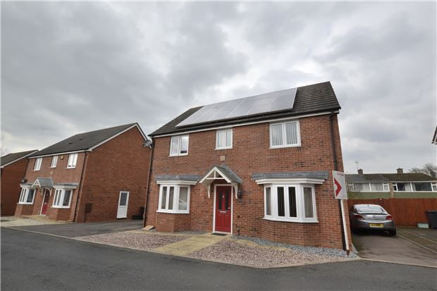 Thumbnail Detached house for sale in Meredith Way, Tuffley, Gloucester