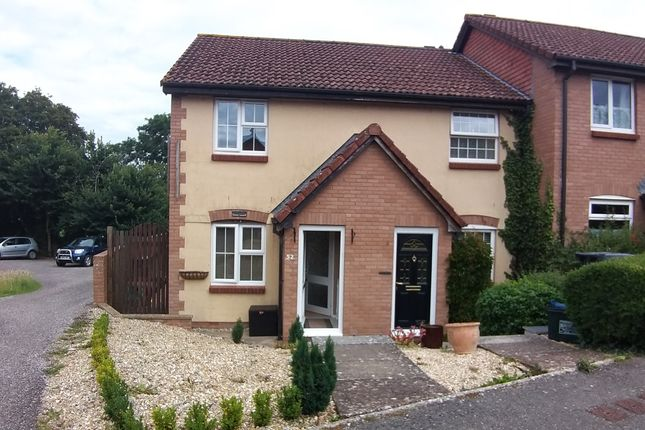 2 bed end terrace house to rent in Primrose Way, Seaton, Devon EX12