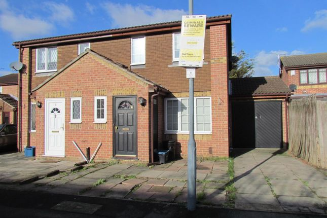 Thumbnail Semi-detached house to rent in Asquith Close, Chadwell Heath, Romford