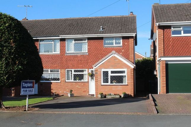 Thumbnail Semi-detached house for sale in Cherry Tree Road, Kingswinford