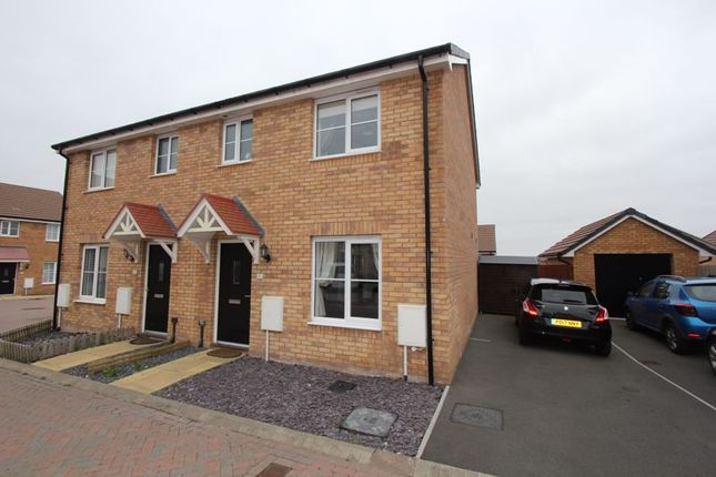 Thumbnail Semi-detached house for sale in Rhoose Way, Rhoose, Barry