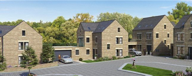 Thumbnail Link-detached house for sale in Bracken Chase, Syke Lane, Scarcroft, West Yorkshire