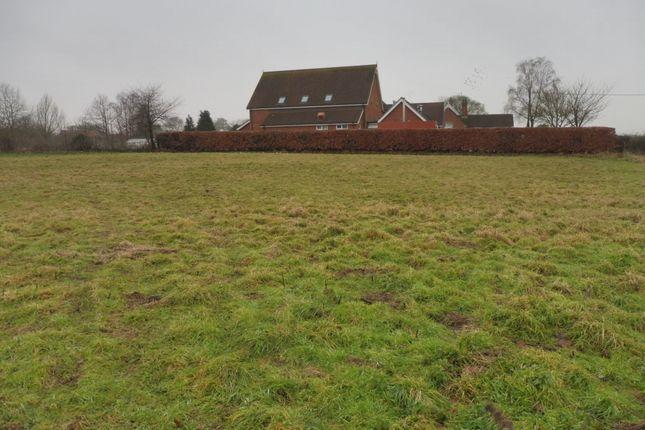Thumbnail Land for sale in Kettlestone Road, Little Snoring, Fakenham