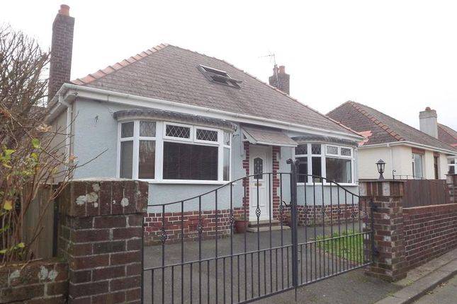 Thumbnail Bungalow for sale in Priory Lodge Drive, Milford Haven