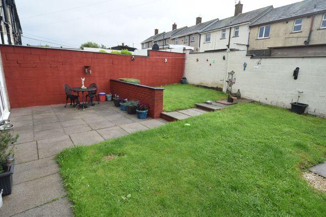 Garden of Cote Ley Crescent, Walney, Barrow-In-Furness LA14