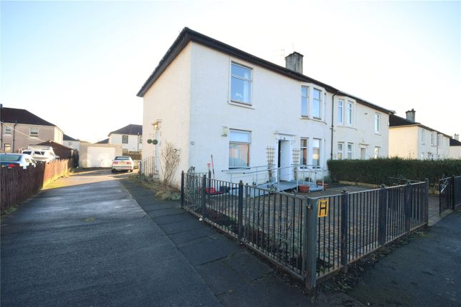 Thumbnail Flat for sale in Carlibar Avenue, Knightswood, Glasgow