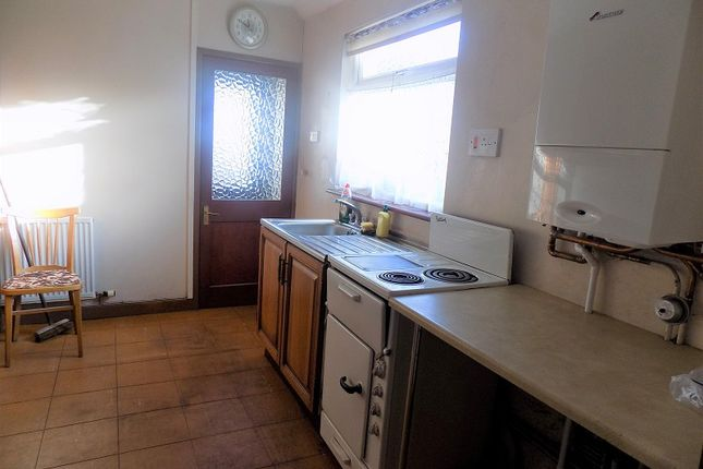 Kitchen of River Terrace, Treorchy, Rhondda Cynon Taff. CF42