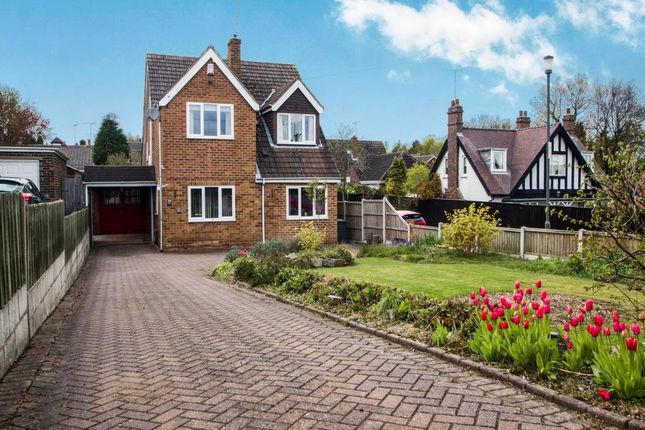 Thumbnail Detached house for sale in Sandcliffe Road, Midway, Swadlincote