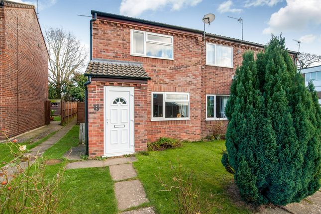 Thumbnail End terrace house for sale in Constable Close, Diss